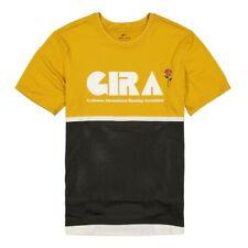 Nike Gyakusou NRG Top Logo Mens T-Shirt Gold Size M Casual Sportswear Running