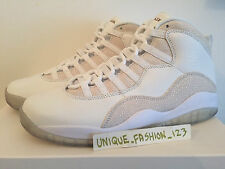 NIKE AIR JORDAN 10 RETRO X OVO DRAKE US 9 UK 8 42.5 2015 WHITE STINGRAY GOLD AJ