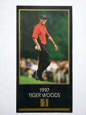 Tiger Woods 1997 Grand Slam Ventures Golf Rookie Card
