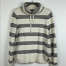 Tommy Hilfiger Striped Long Sleeve Sweater Size M