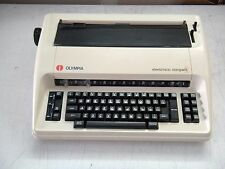 Refurbished Olympia Compact 2 Typewriter, parallel port on back, w/warranty