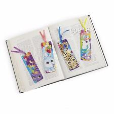 12 x Fantasy Bookmarks  Unicorn  Leopard  Party Favours  Girls Loot Bag Supplies