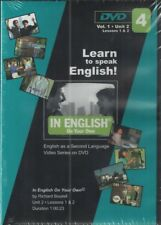 Learn to Speak English Vol. 1, Unit 2 Lessons 1-6 ( 3 Dvds)