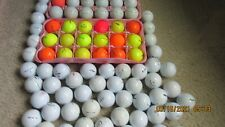 New listing 101 USED ASSORTED COLOR INCLUDING  9 PROV1  GOLF BALLS AAAA/AAA
