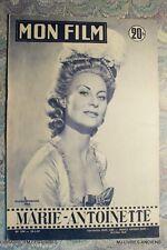 (1435MF.0.35) REVUE MON FILM N°544 MARIE-ANTOINETTE MICHELE MORGAN JANVIER 1957