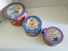 Rare Vintage 3 Stacking Hat Boxes Mary Engelbreit Its Good To Be Queen