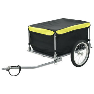 Bike Cargo Trailer Bicycle Storage with Water Resistant Cover Coupling Design