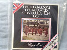 More details for 1983  royal mint brilliant uncirculated bu bunc coin annual year set