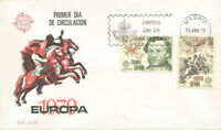 SPD FDC First Day Spain Europe Cept 1979 edifil #2520/2521