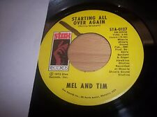 "VG+ 1972 Mel And Tim It Hurts To Want It So Bad 7"" 45RPM w/ppr slv"