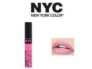 NYC SMOOCH PROOF LIP STAIN LIPSTICK 300 IN THE SPOTLIGHT 7ML & FREE 1 LIPLINER