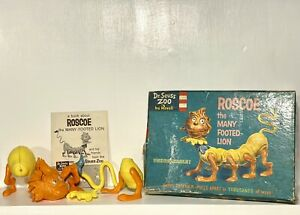 Dr. Seuss Roscoe The Many Footed Lion Model Kit - Revell 1959 - Near Complete