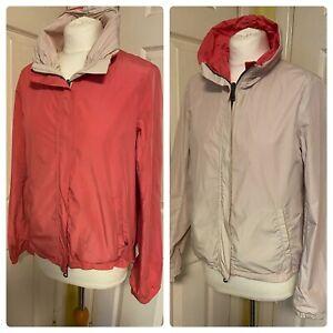Max Mara Reversible Rain/ Windbreaker Jacket. Uk 10