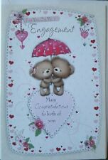 FOR YOU ON YOUR ENGAGEMENT MANY CONGRATULATIONS TO BOTH OF YOU - ENGAGEMENT CARD