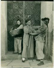 LUISE RAINER PAUL MUNI The Good Earth Orig 1937 Photo