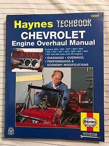Haynes Techbook 10305 / Chevrolet Engine Overhaul Manual / Step-by-Step