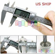 6 inch / 150mm Digital Electronic LCD Steel Stainless Ruler Gauge Caliper