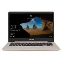 Asus S406UA-BV026T Gold Notebook 36cm 14 Zoll 128GB SSD 4GB RAM Intel i3 gold