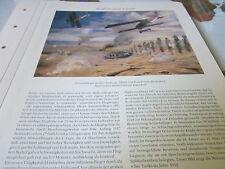 Deutsches Miltiär Archiv 1. Weltkrieg 3 3028 Schlachtflieger im Tankangriff