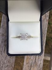 White Gold Diamond Ring - Beautiful! And In Excellent Condition!