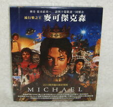 Michael Jackson 2010 New Album Taiwan CD w/BOX