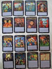 ALL FULL Common Assassins 50 Cartes INWO Illuminati SJG 1995 NEW WORLD ORDER