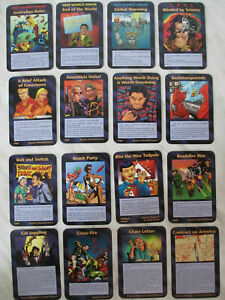 50 Common Assassins Card INWO Illuminati Game Trump pizzagate enough is enough