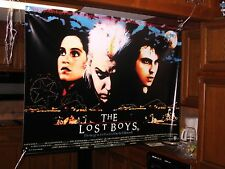 SALE HUGE! 46x32 The LOST BOYS Vinyl Banner POSTER film movie new small def.