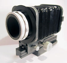 Vintage Leica Leitz Elmar 1:3.5/65mm Lens Bellows Rail Mount See Photos