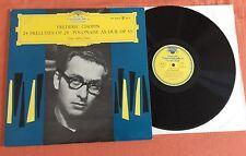 "LP VINYL 12"" CHOPIN 24 PRELUDES POLONAISE AS DUR GEZA ANDA PIANO DGG LPM 18604"