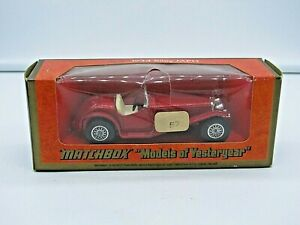 1973 Matchbox Models Of Yesteryear Y-3 1934 RILEY MPH