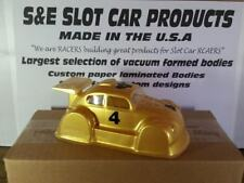 1/32 Slot Car Body Vw Bug Outlaw -Rear Wing-New -Clear- Window Mask # 3090