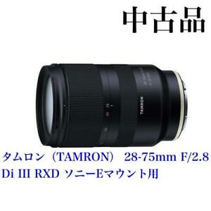 Tamron 28-75Mm F/2.8 For Sony E-Mount