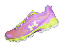 Girls Under Armour GGS Micro G Nitrous Running Shoes Size 6 - 1258209-568