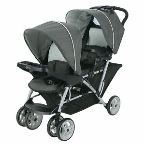Graco DuoGlider Double Stroller Lightweight Double Stroller with Tandem Seating