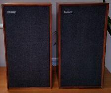 More details for rare vintage celestion c county speakers teak cabinets