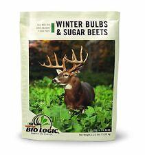 Winter Bulbs Sugar Beets Food Plot Deer Feed Seeds Hunting Plots Bio Logic deers
