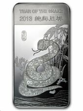 2013 Lunar Year of the Snake Mint Sealed 1/2 oz. Fine Silver Bar!!