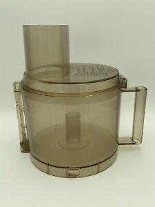 Cuisinart DLC-7 Pro 14 Cup Food Processor Replacement Parts Lid & Bowl Amber
