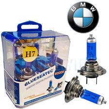 para BMW Xenón Blanco Halógena H7 Cruce Bombillas Para Faros Frontales 6000k Par