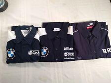 """formula 1 shirt - WILLIAMS GRAND PRIX """"Triple Play"""" Lot Of 3 (L,XL,XXL)US"""