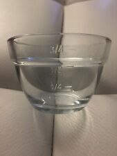 Pampered Chef Measuring Cup One Prep Bowl Glass Tempered Kitchen