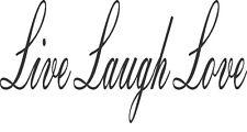 Live Laugh Love decal truck bus mirror 20 x10cm