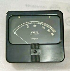Simpson Electric Panel Meter 1327A0-750 Dcma 3.5 Ul Wv Model 6450