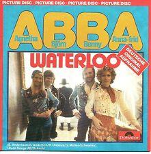 ☆ CD SINGLE EUROVISION 1974 Suede : Abba Waterloo en français & allemand