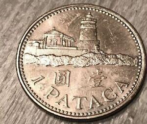 2007 Macau 1 Pataca coin Age 14 years old KM#57 Bid now Your seller Smokejoe13 .