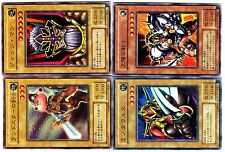 YUGIOH Lote de 4 Folios Cartas ULTRA o SUPER RARO JAPANESE Mint Condition