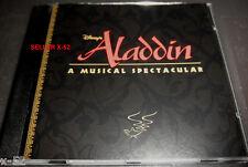 DISNEY ALADDIN a MUSICAL spectacular CD rare A WHOLE NEW WORLD rice menken ashma