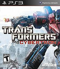 Transformers: War for Cybertron - Sony PlayStation 3, 2010 - PS3 - Complete