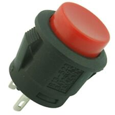 Push Fit Button Switch Black
